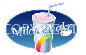 88077- Aufkleber _Milch Shake_