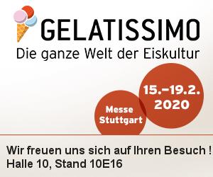 Geppetto Eis in der Gelatissimo Messe in Stuttgart